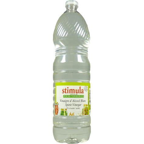 vinaigre d alcool blanc cuisine vinaigre d 39 alcool blanc bouteille de 1 5l