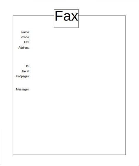 fax cover sheet template free basic fax cover sheet 10 free word pdf documents free premium templates