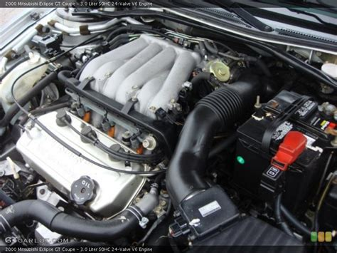 1995 Mitsubishi Eclipse Engine by 1995 2003 Mitsubishi Eclipse 3 0 V6 Engine Specifications
