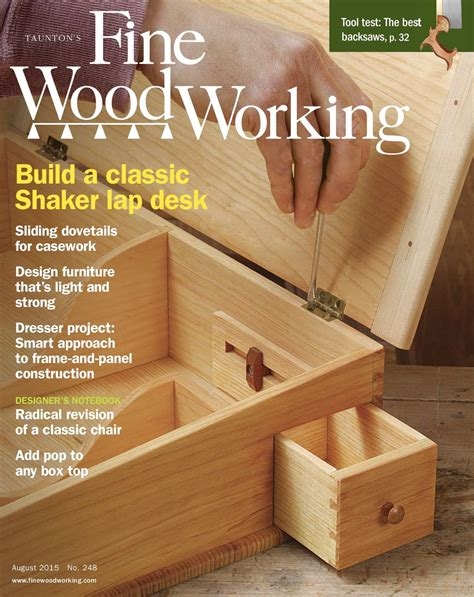 calameo fine woodworking  preview issue