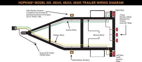 Trailer Plug Wiring Diagram Pin Round