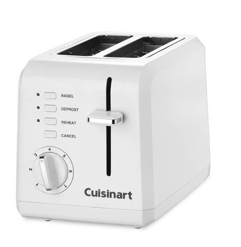 Toaster Specials by High Quality Cuisinart 2 Slice Compact Plastic Toaster