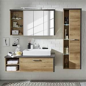 Badezimmer Möbel Set Angebot : 15 sparen badezimmerset bay mit waschbecken nur 849 99 cherry m bel home24 ~ Bigdaddyawards.com Haus und Dekorationen