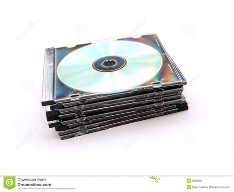 cd jewel case cds in cases stock image image of package 5852091