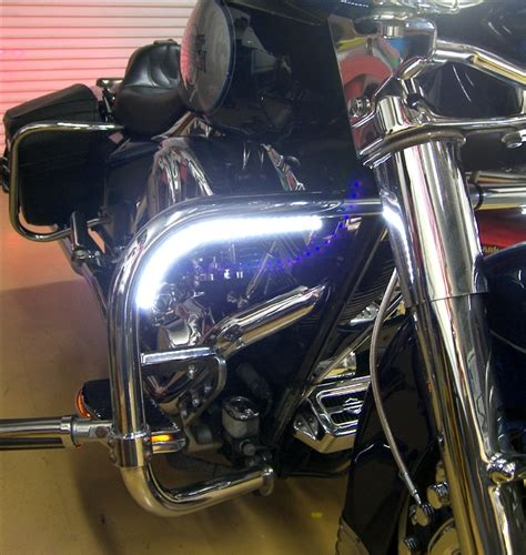 day strips motorcycle drl daytime running lights led