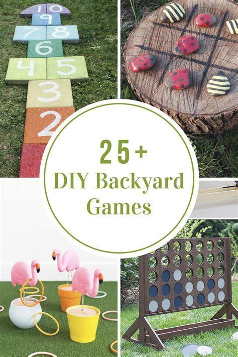 diy backyard games  idea room