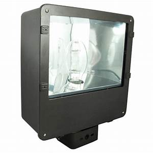 W high pressure sodium hps flood light fixture