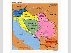 Maps of Yugoslavia Detailed map of Yugoslavia Former