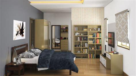 wood sliding closet home interior design offers 3bhk interior designing packages