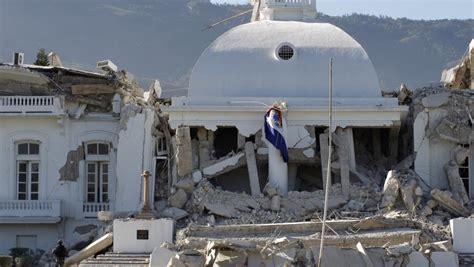 il y a cinq ans le tremblement de terre en ha 239 ti en