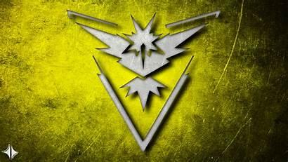 Pokemon Team Instinct Wallpapers Yellow Background Px