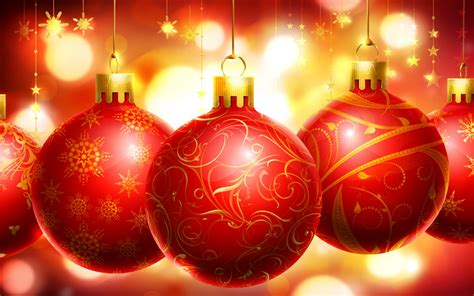 merry christmas christmas decorations red hd wallpaper