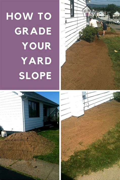 how to create drainage in yard yard grading 101 how to grade a yard for proper drainage garage yard stuffs pinterest
