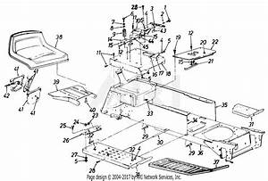 Mtd Ranch King Mdl 140 843268 Parts Diagram For