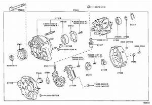 1999 Toyota Camry Bolt For Alternator   Engine