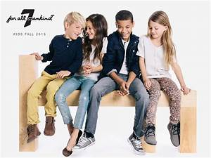 A Fancy Girl Must - 7 for All Mankind Fall 2013 Kids