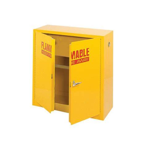 edsal 43 in w x 18 in d x 44 in h yellow flammable