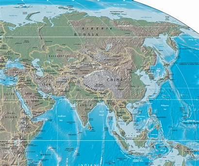 Asia Asianews Map