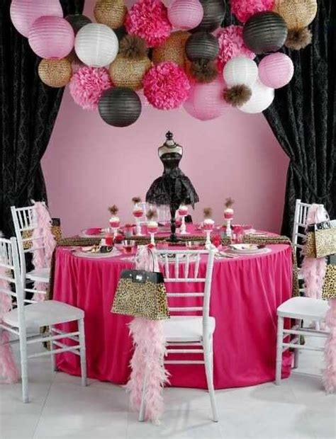 entertaining dinner birthday party decorations in gold