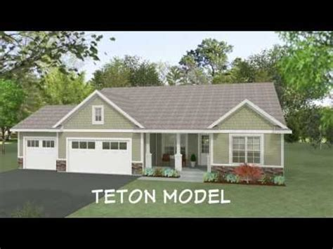 teton home floor plan  wausau homes youtube wausau homes  home builders house floor
