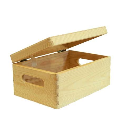 cassetta in legno cassetta scatola in legno quot wood box quot con coperchio