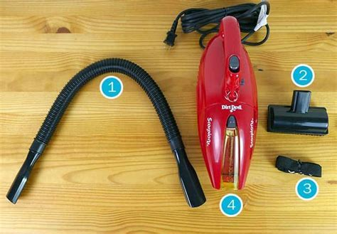 Dirt Devil Handheld Vacuum Review ? In home Tests