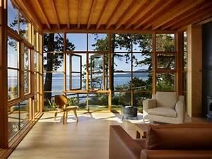 15, Amazing, Glass, Walls, Living, Room, Designs