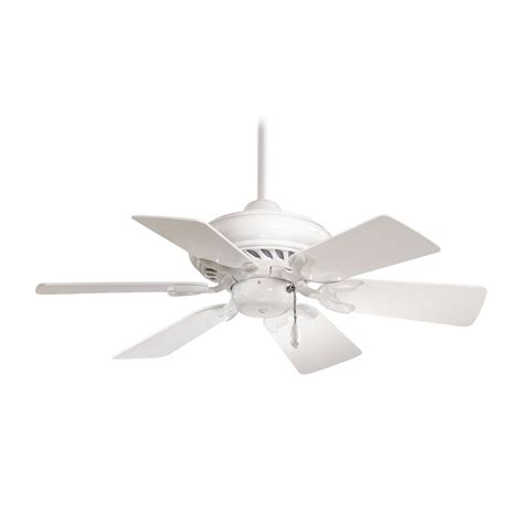 ceiling fan without light in white finish f562 wh