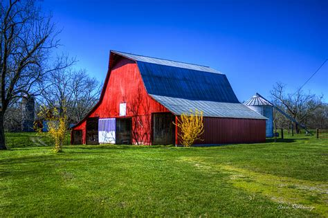 Now i have to wait until spring for parsnips to finish the. Spring Has Sprung Red Barn Tennessee Farm Scene Art ...