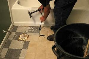 how to remove a tile floor how tos diy With how to remove plastic floor tiles