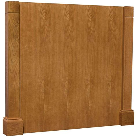kitchen cabinet decorative panels hton bay 3x34 5x37 5 in decorative island end panel in 5224