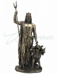 Bronze Hades Greek God of the Underworld Sculpture ...