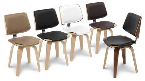 chaise design pied bois chaise design mobiliermoss style scandinave en