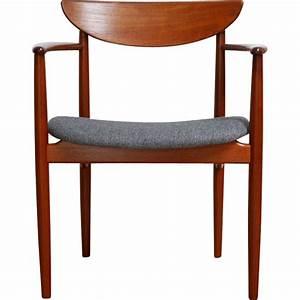 Chaise Bureau Vintage : chaise de bureau vintage scandinave en teck kurt ostervig 1960 design market ~ Teatrodelosmanantiales.com Idées de Décoration