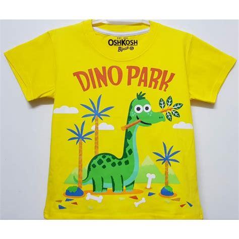 Dino Kuning jual kaos anak dinosaurus brontosaurus 3 harga murah