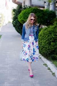 Floral Printed Wrap Mini Shiffon Silk Fabric Black White Casual and Formal Skirts - Womenitems.Com