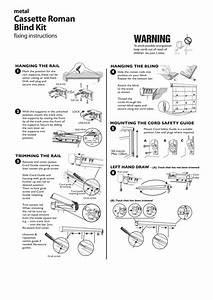 Roman Blind Cassette Fitting Instructions