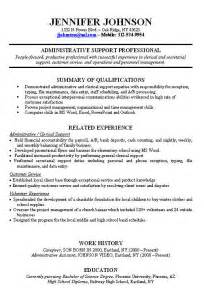 exle of resume work experience never worked resume sle