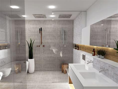 sejour ouvert sur cuisine salle de bain italienne de luxe style nature meuble et