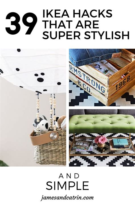 8 Stylish Home Decor Hacks For Renters by 39 Ikea Hacks That Are Simple And Stylish Home
