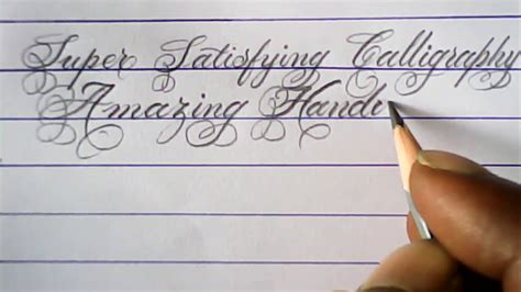 hand writing  pencil fancy pencil calligraphy