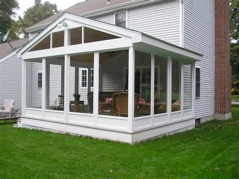 Porch Enclosures by Sunrooms Additions Porch Enclosure Kit At Lowe S Screen