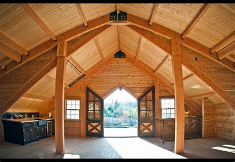 barn loft living area traditional living room