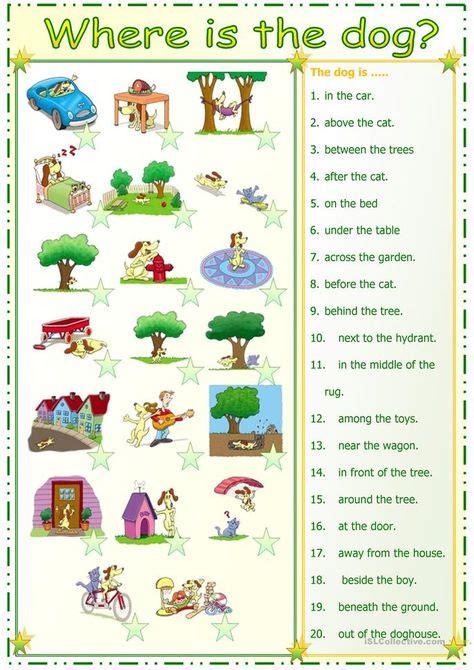 preposition match  immagini grammatica inglese