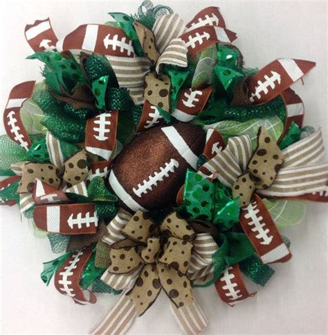 Football Wreath Decorations - 25 best ideas about sports wreaths on