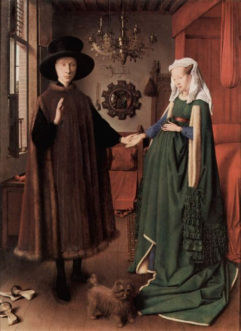 jan van eyck  arnolfini portrait hubpages