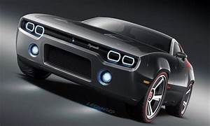 Dodge Challenger Concept Car like the neon strip head