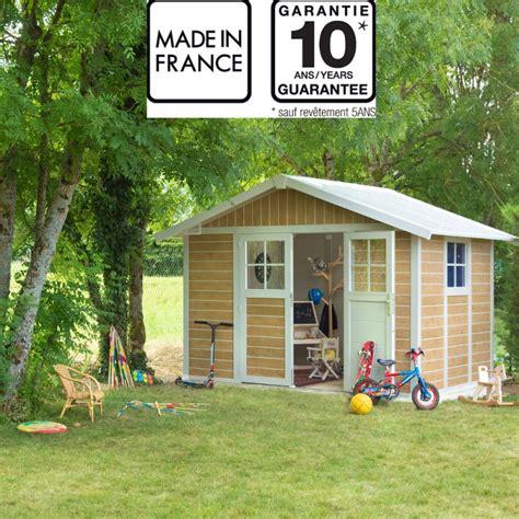 abri de jardin en pvc 7 5m 178 deco sherwood grosfillex kit