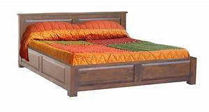 Indian Wooden Storage Bed   Wooden Double Bed   Wooden ...