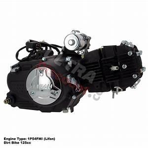 Motor 125 Ccm Lifan 1p54fmi Dirt Bike  Ersatzteile Dirt